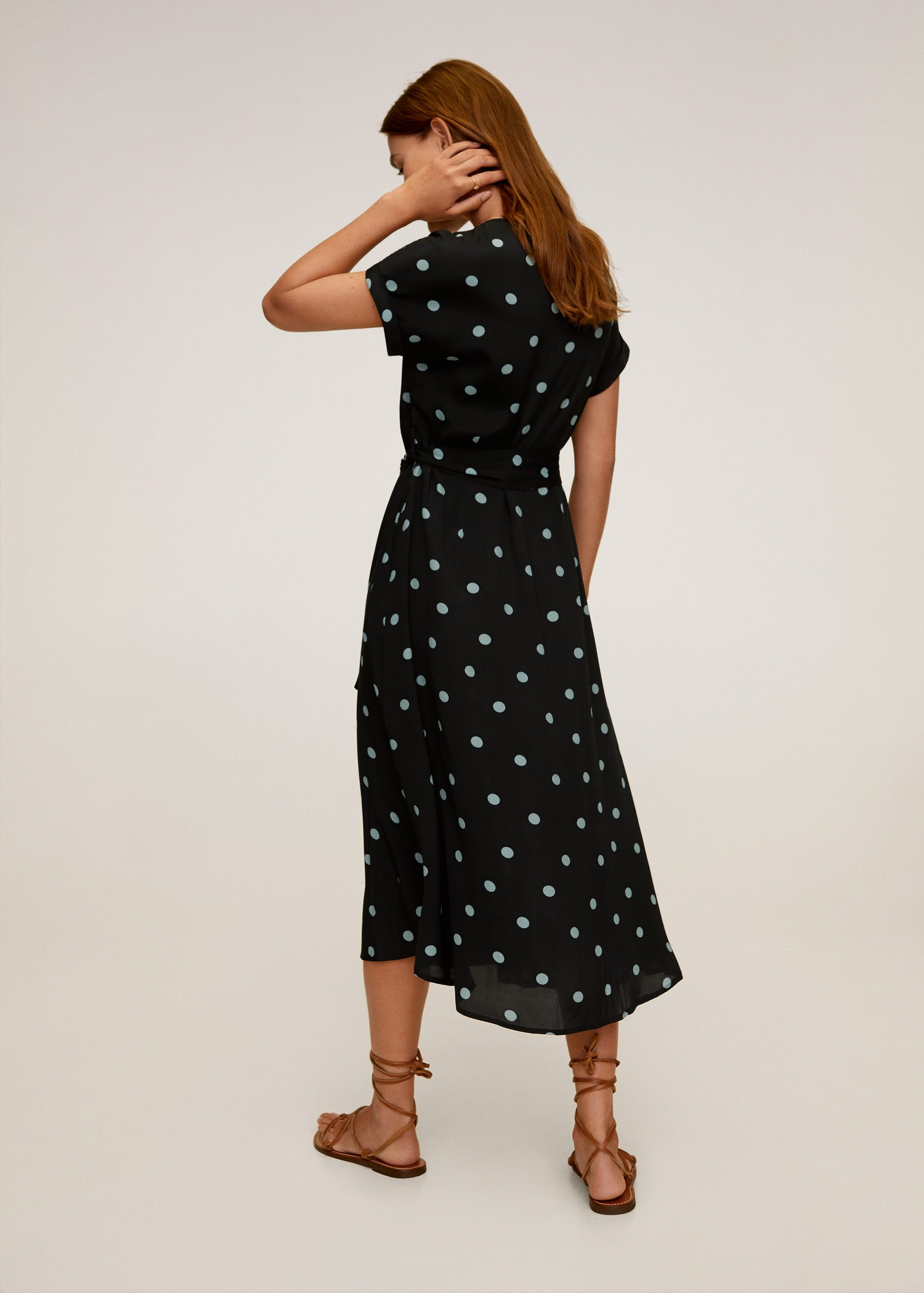 Polka Dot Print Dress Endource