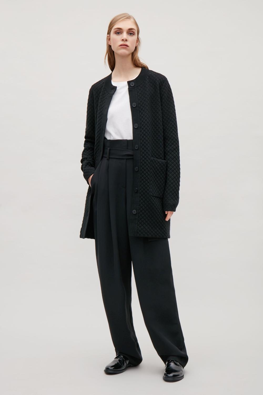 Ecot\u00e9 thick knit cardigan  women/'s medium