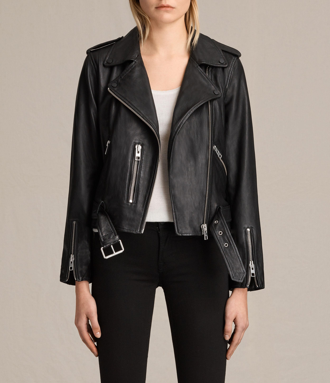 6957ccfad Balfern Leather Biker Jacket