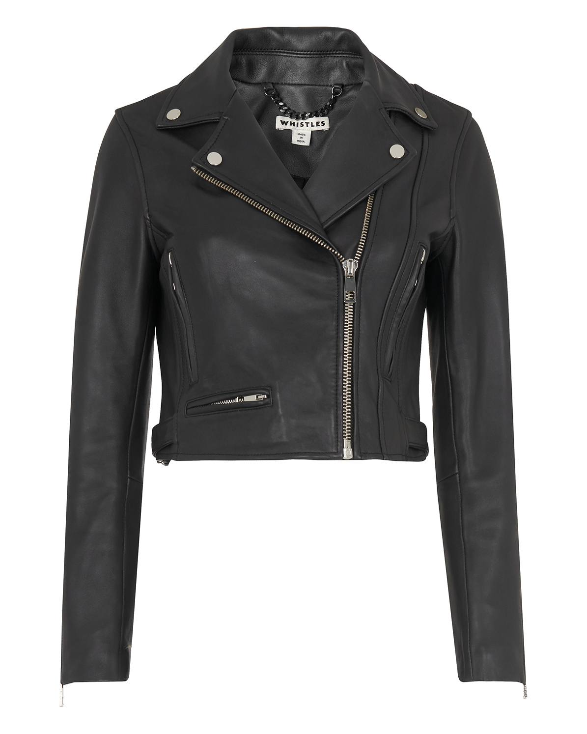 100% satisfaction attractive & durable limited price Rose Crop Leather Jacket