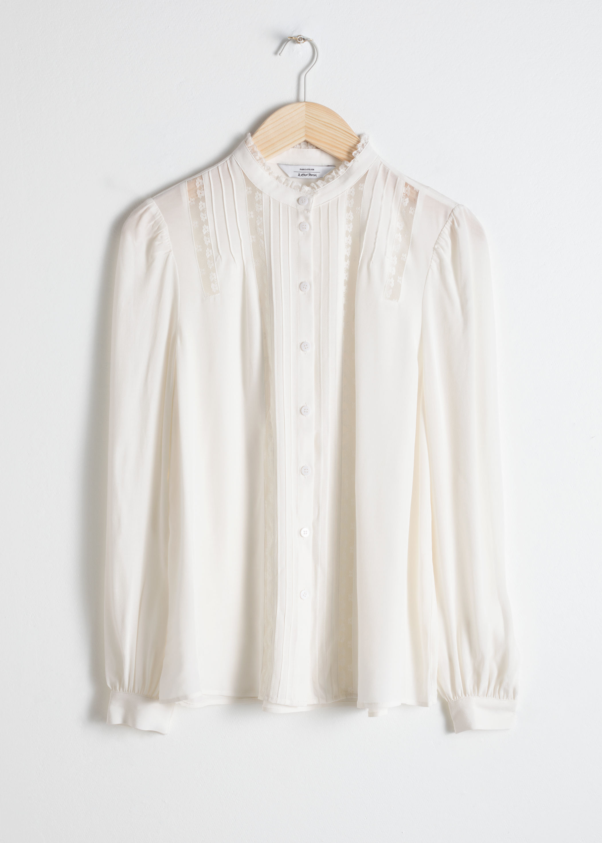 903b96a7fbb Lace Trim Blouse
