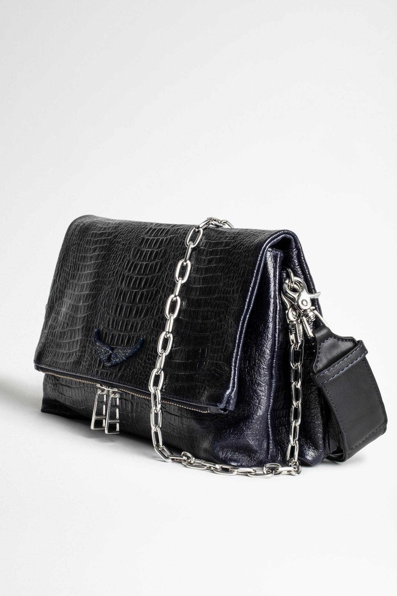 Rocky Embossed Tiny Croco Bag Endource