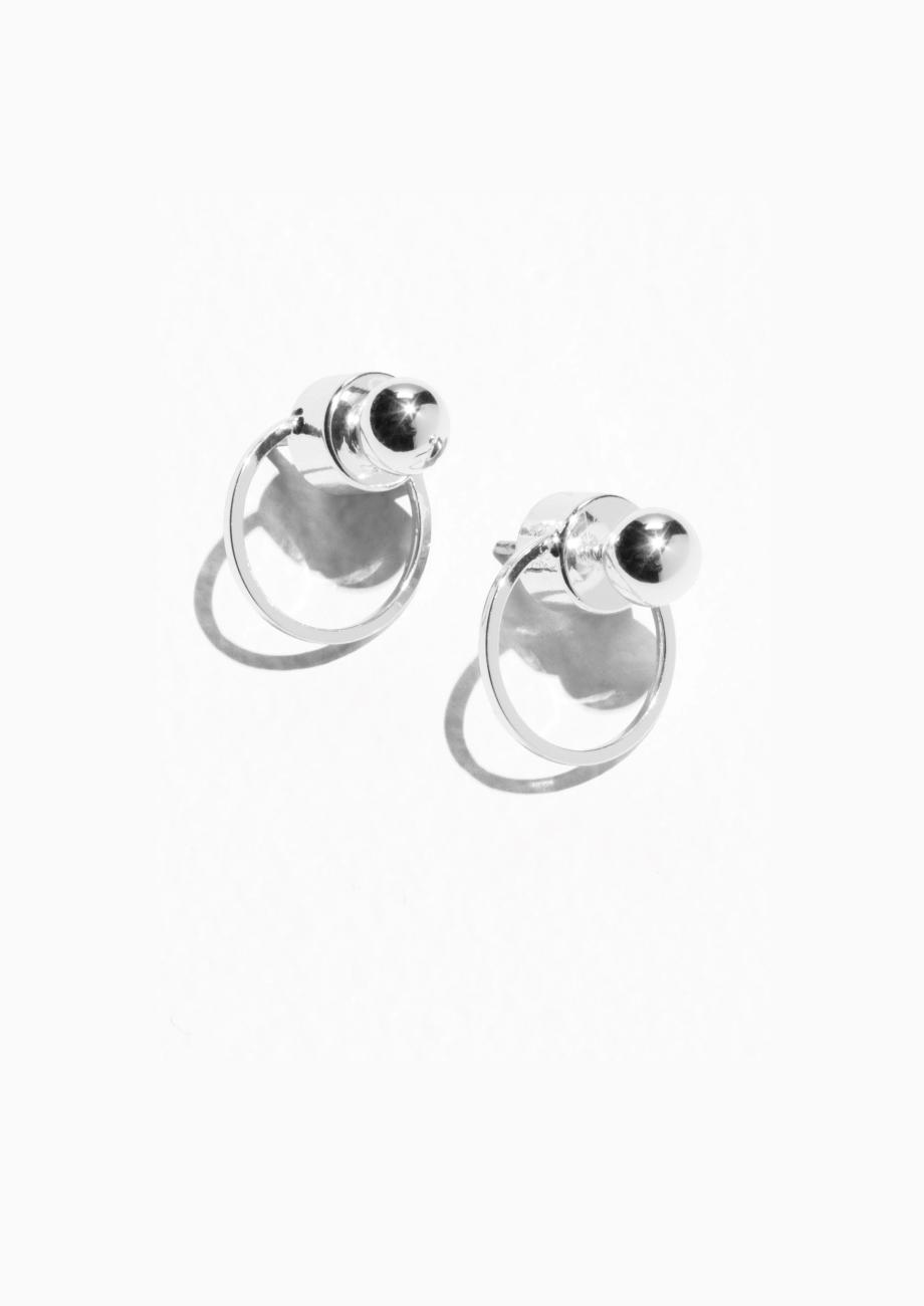 47d724d30 Circular Drop-Back Earrings   Endource