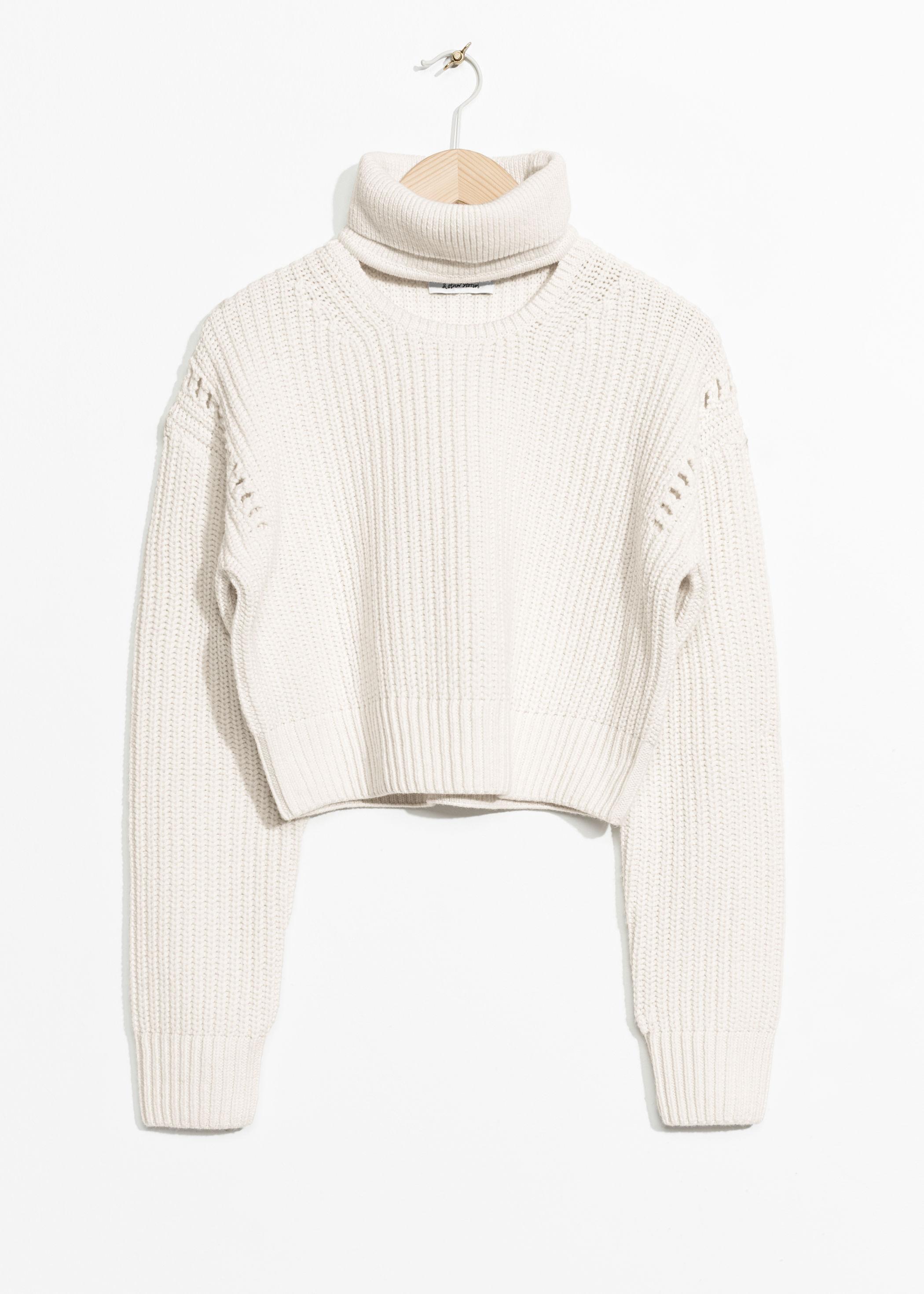 6d2c44974b5 Crop Turtleneck Sweater