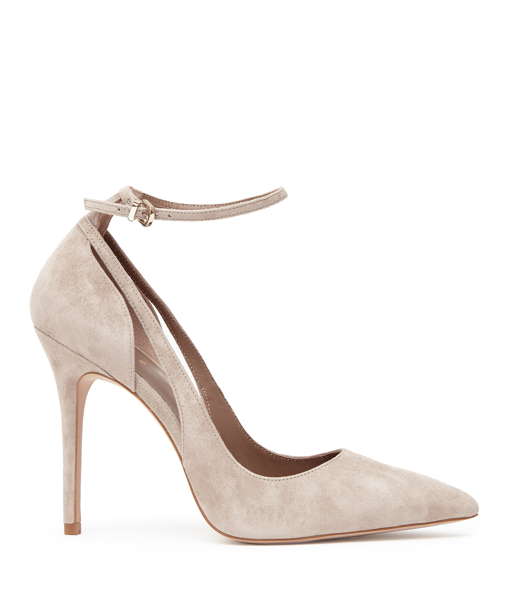 9f347ae303b Marla Suede Ankle-Strap Shoes