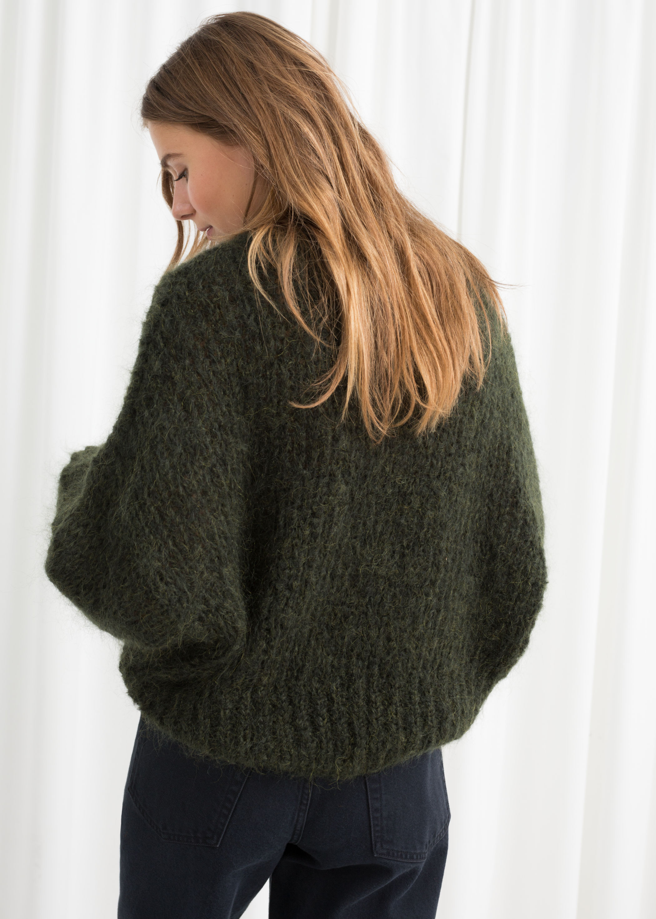 20be67d3f7a3ab Wool Blend Chunky Knit Sweater | Endource
