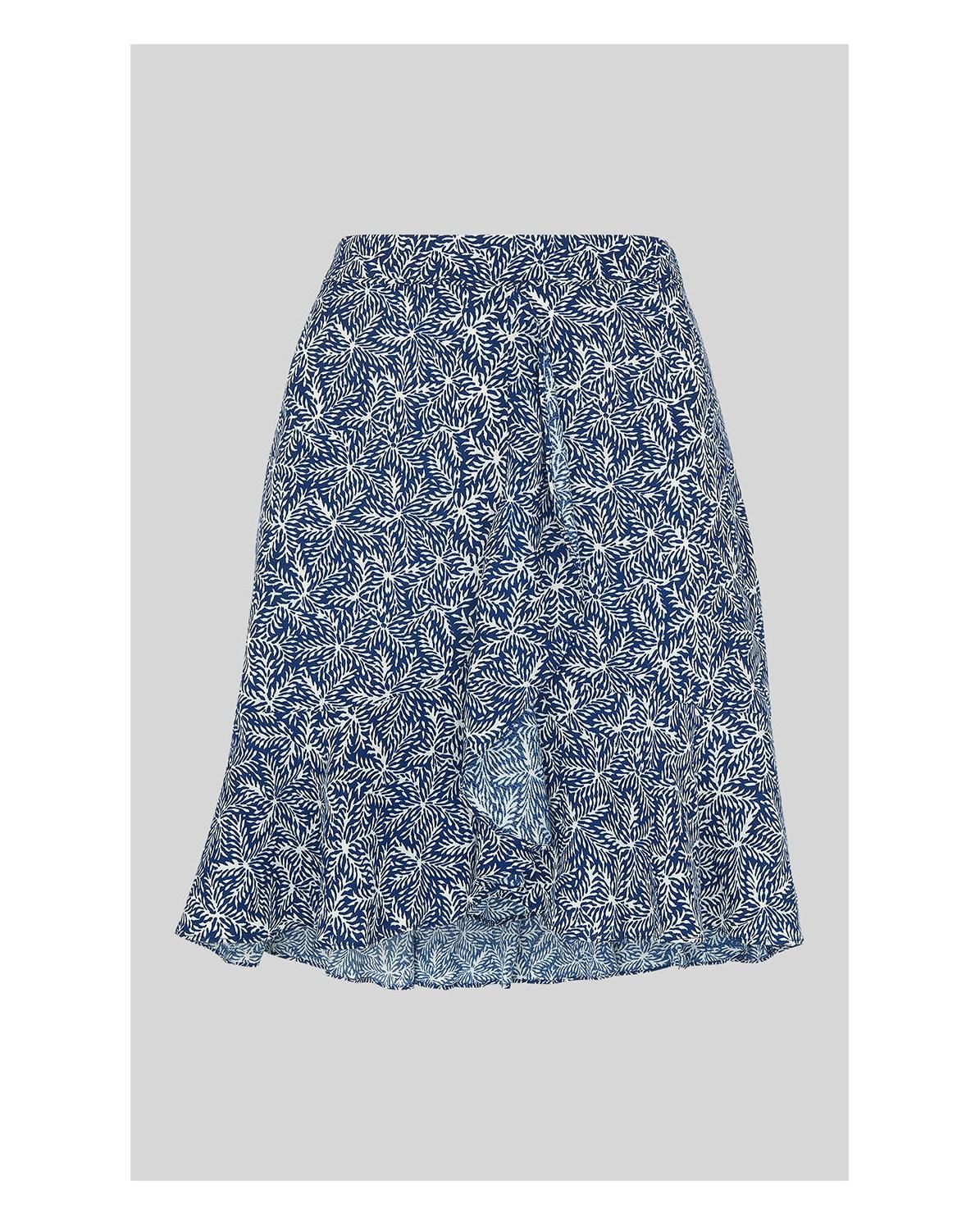 74ea9942aea Etched Print Mini Skirt
