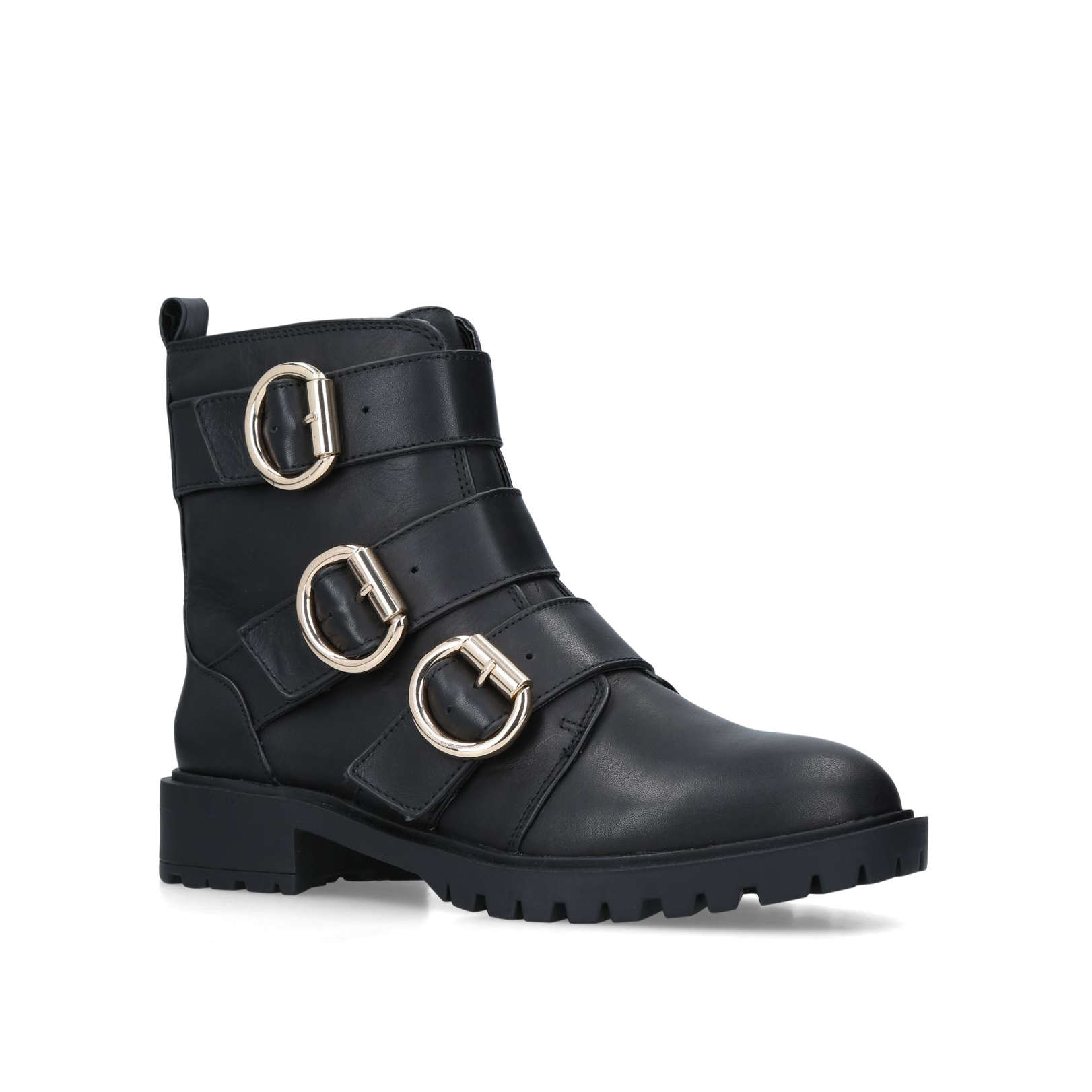 653f6570dc Tania Leather Biker Boots