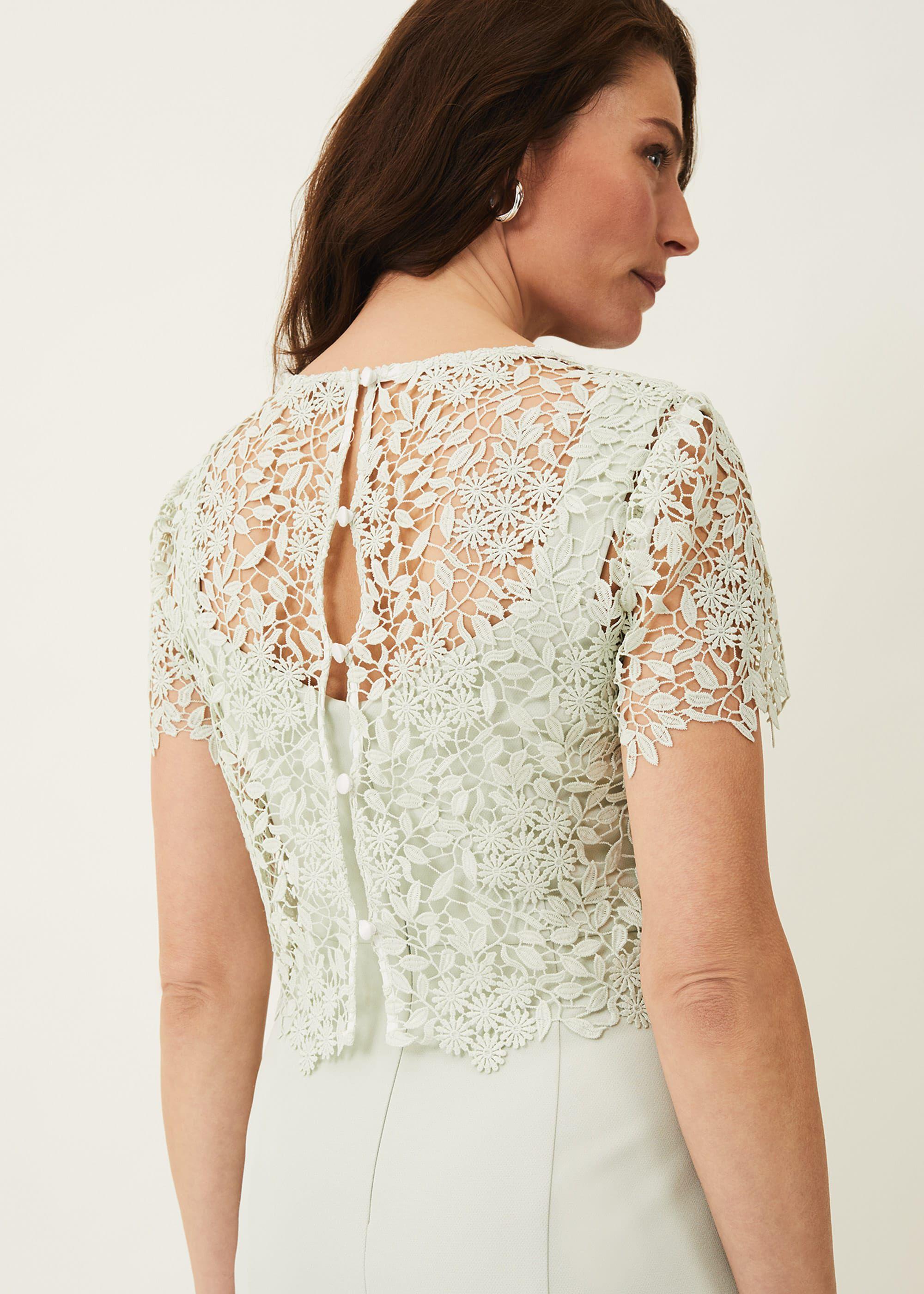 Georgia Layered Lace Dress