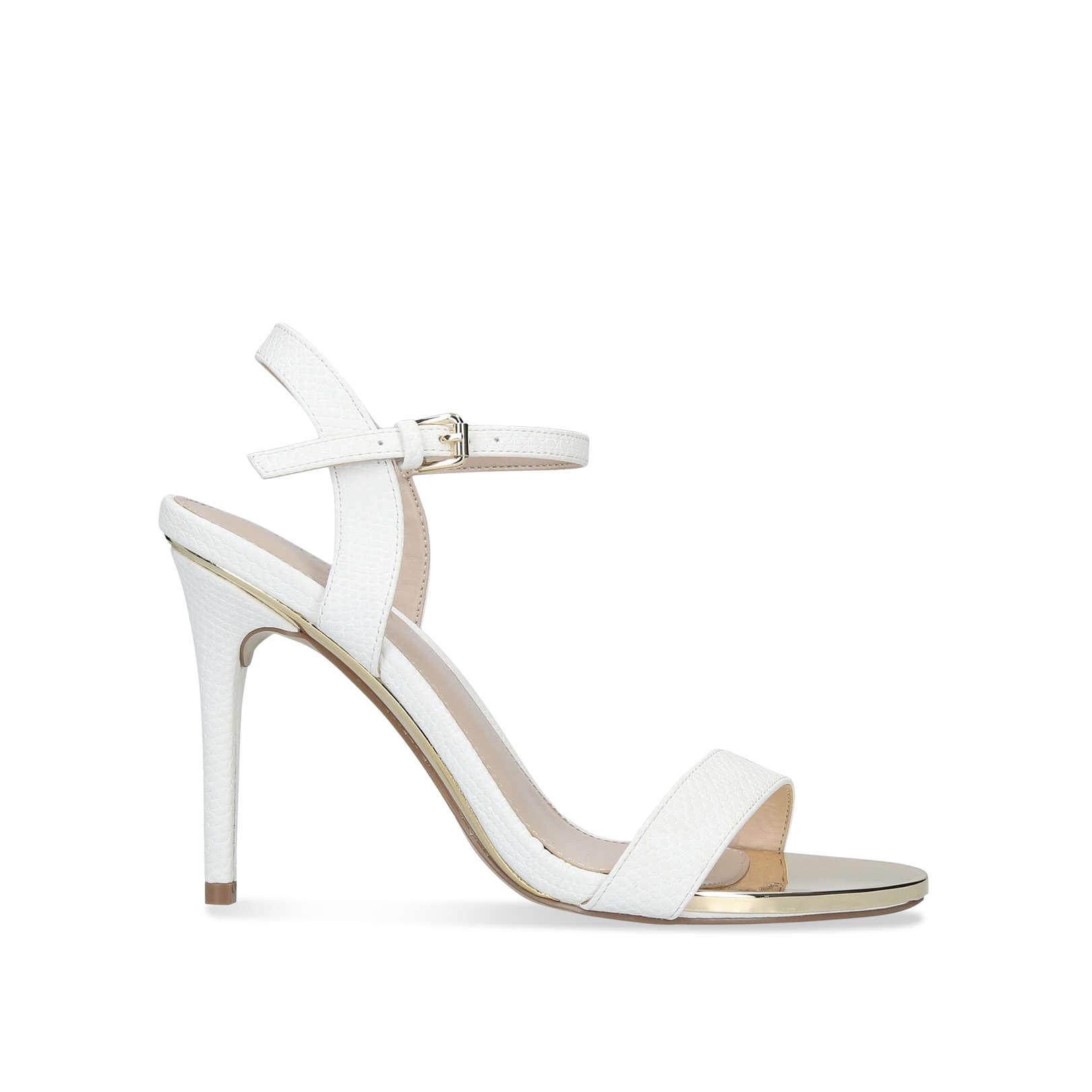 eeb251e44fb Livid Stiletto Heel Strappy Sandals