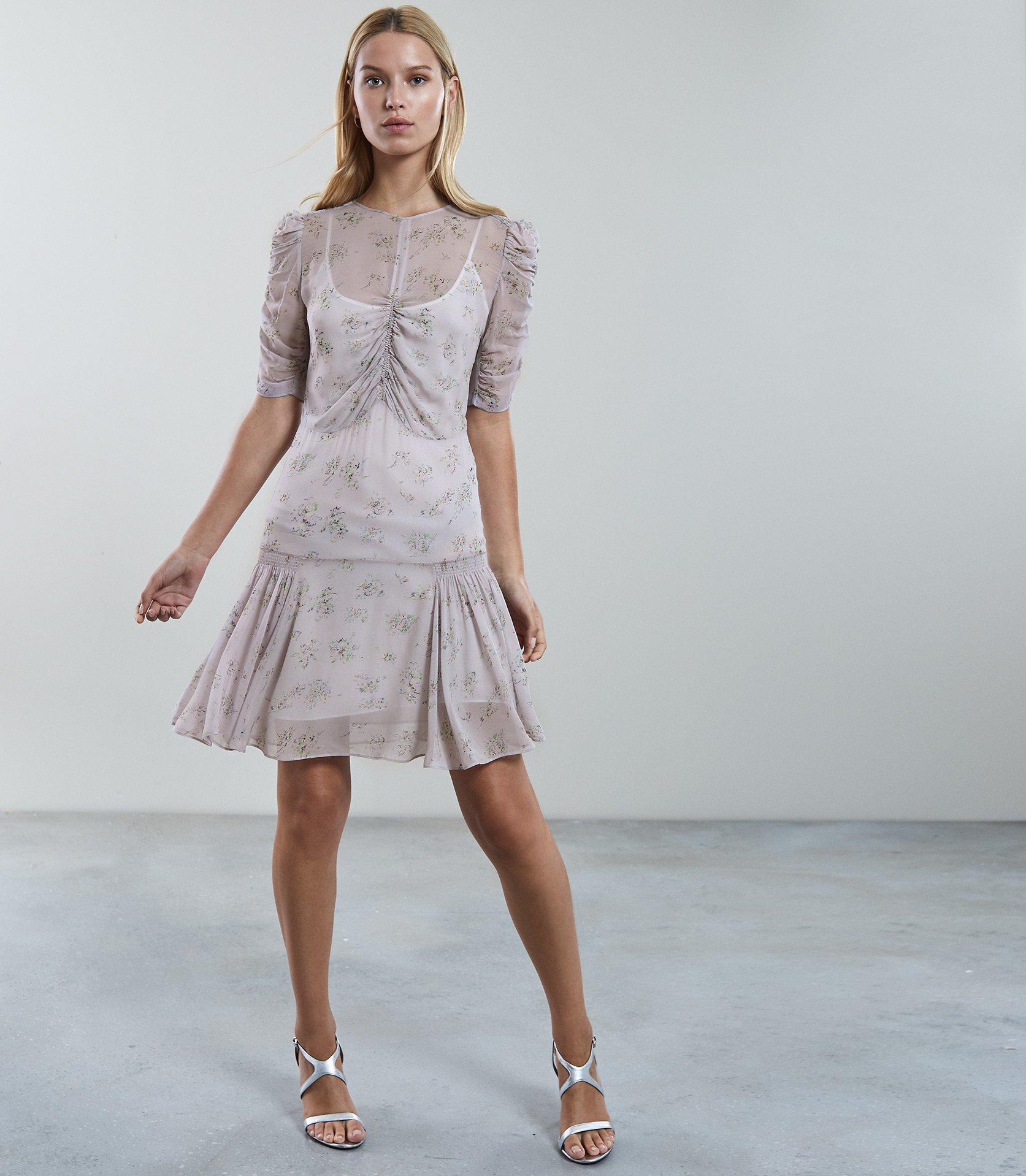 62ec51856fcf2 Rae Ditsy Print Tea Dress | Endource