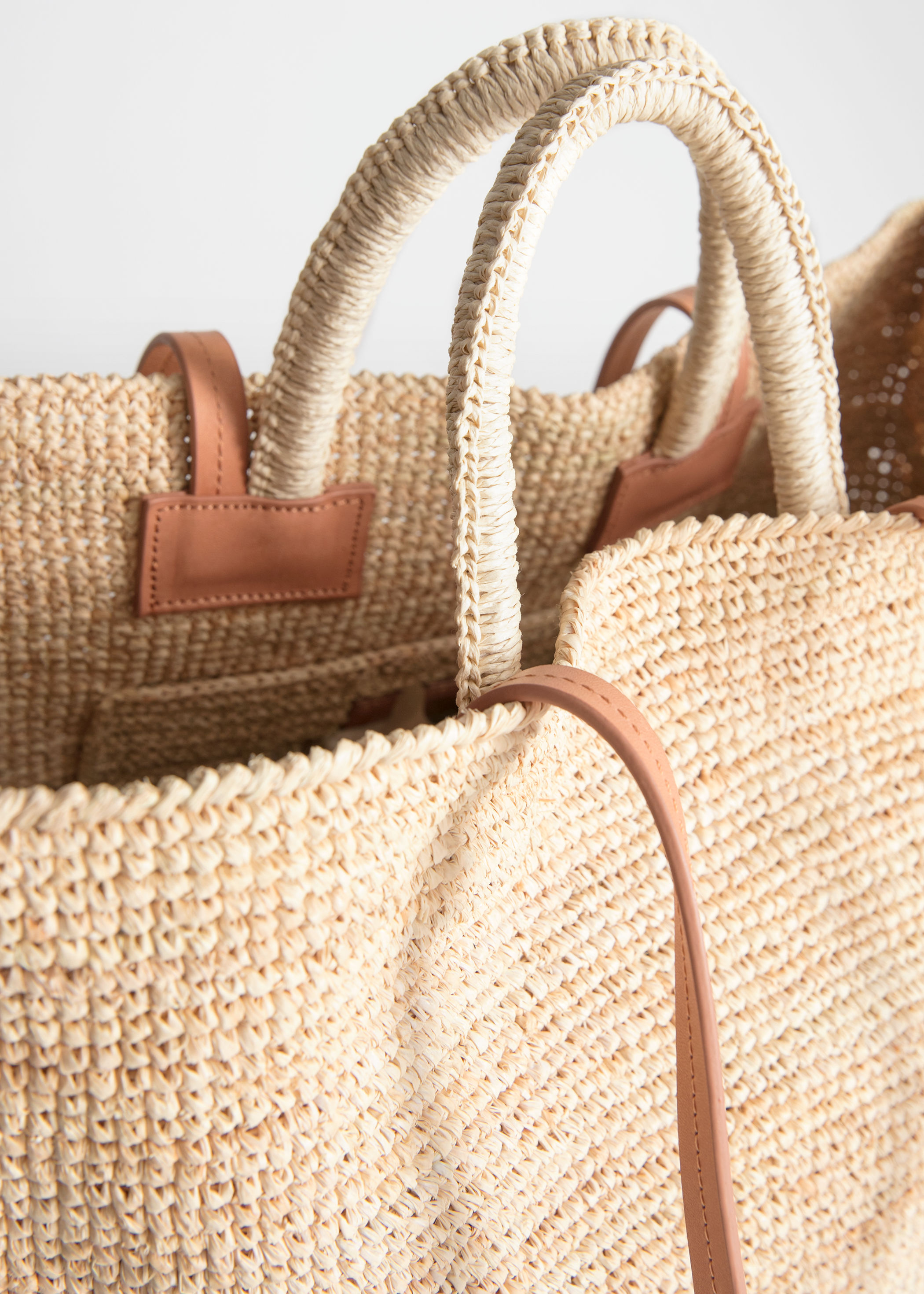 95313155d Large Woven Straw Tote | Endource