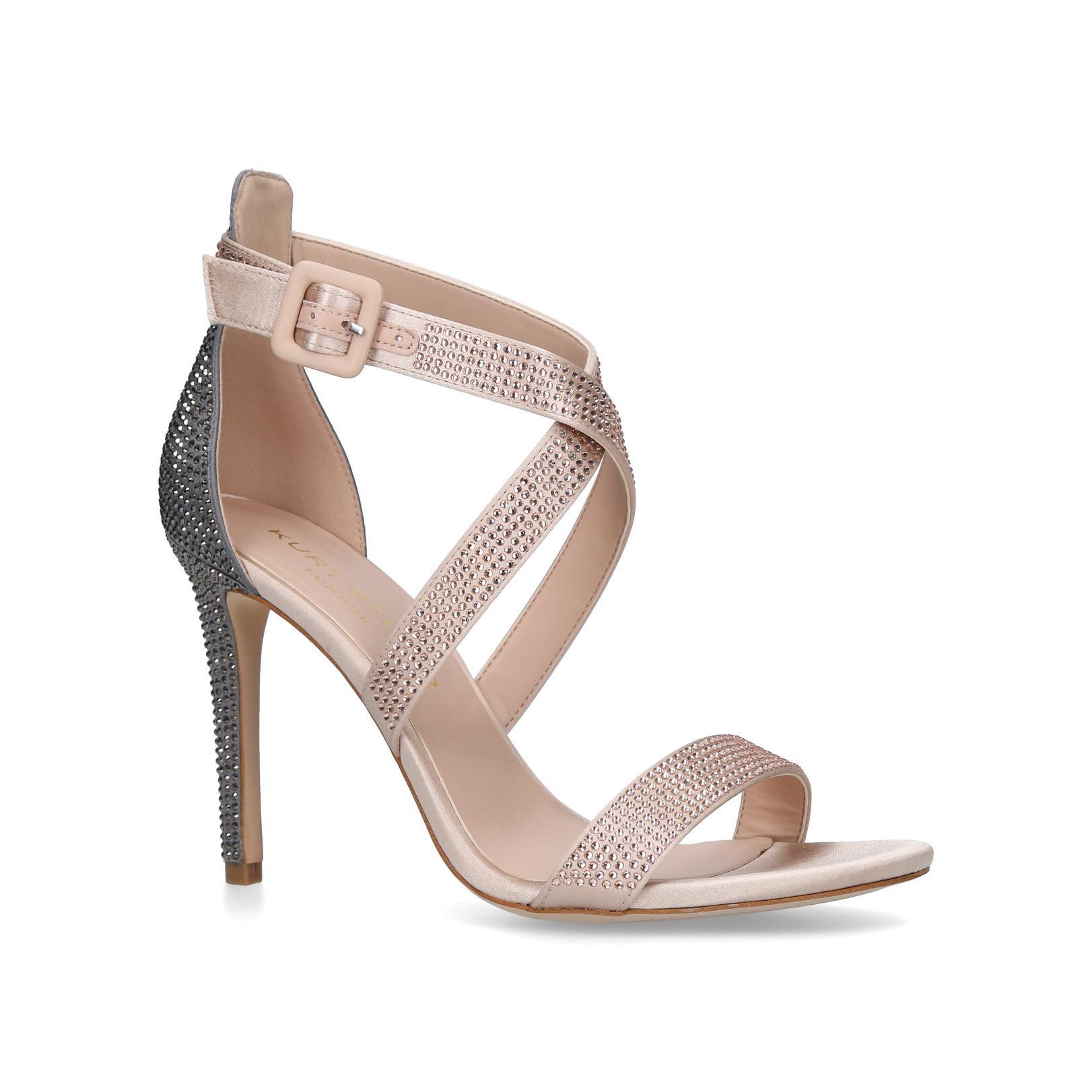 d3b5c93afe6 Knightsbridge Jewel Metallic Sandals