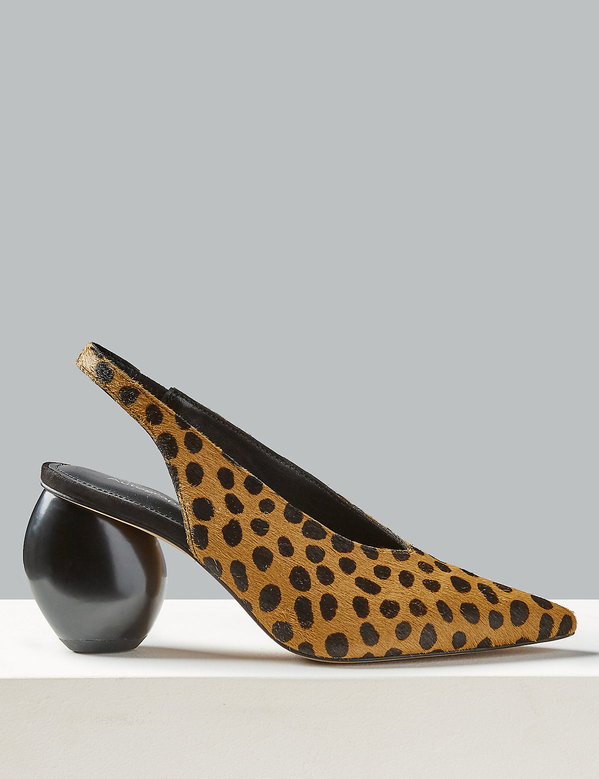 d3f114667651 Suede Animal Print Court Shoes | Endource
