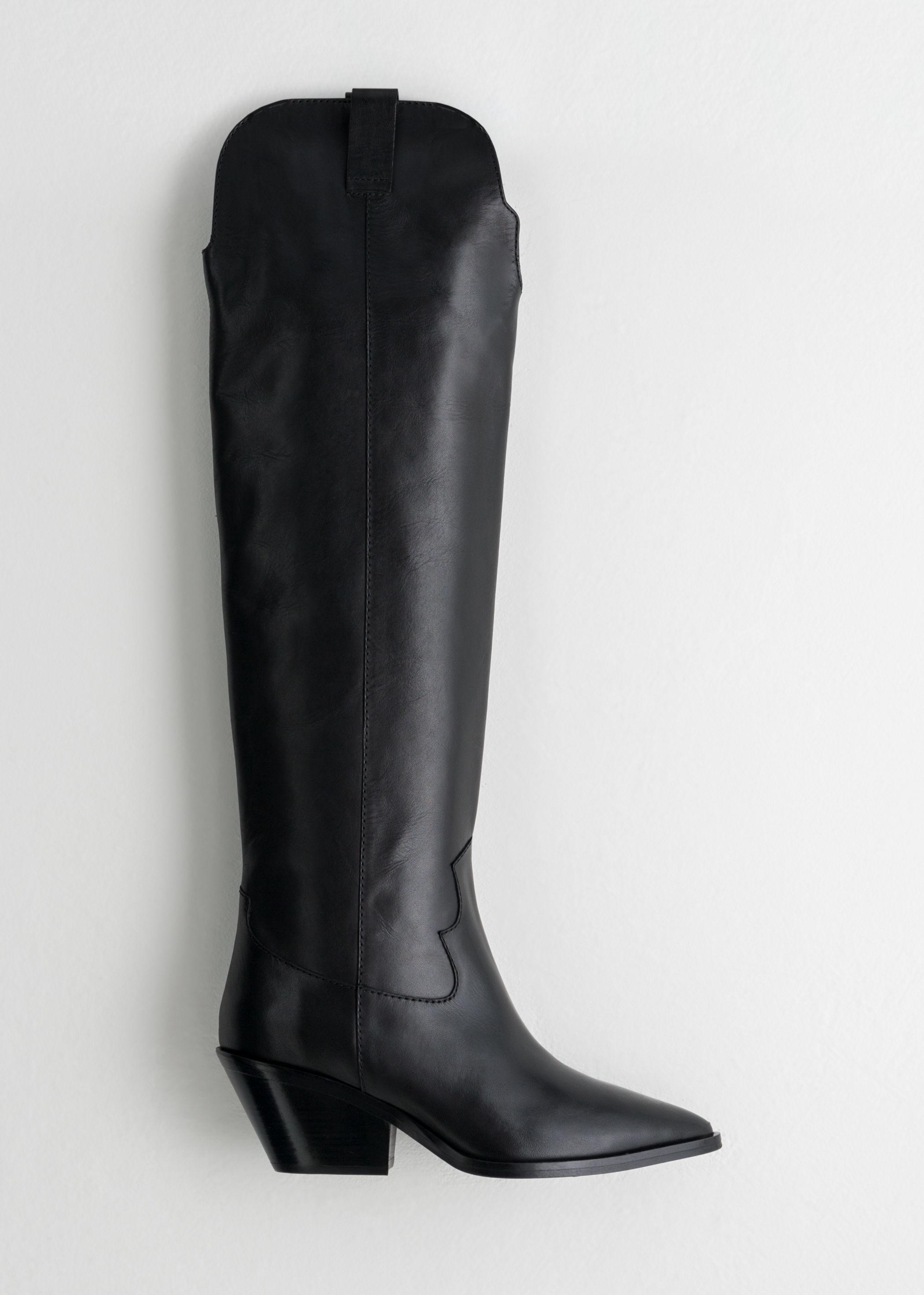 06e1b88da39 Knee High Cowboy Boots