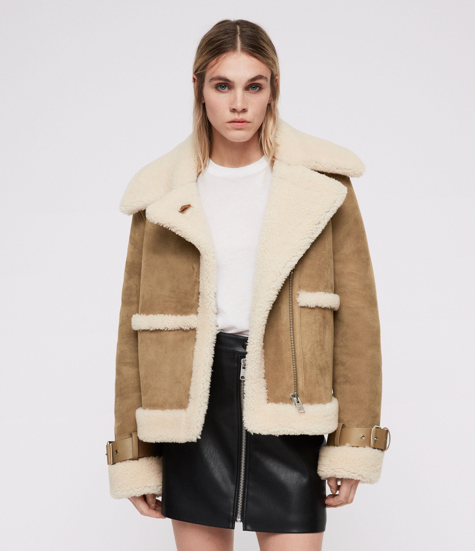Farley Shearling Jacket   Endource