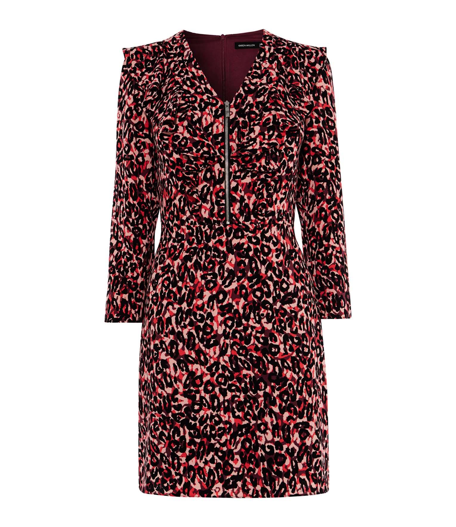 960def1b6bb4 Leopard Print Mini Dress | Endource