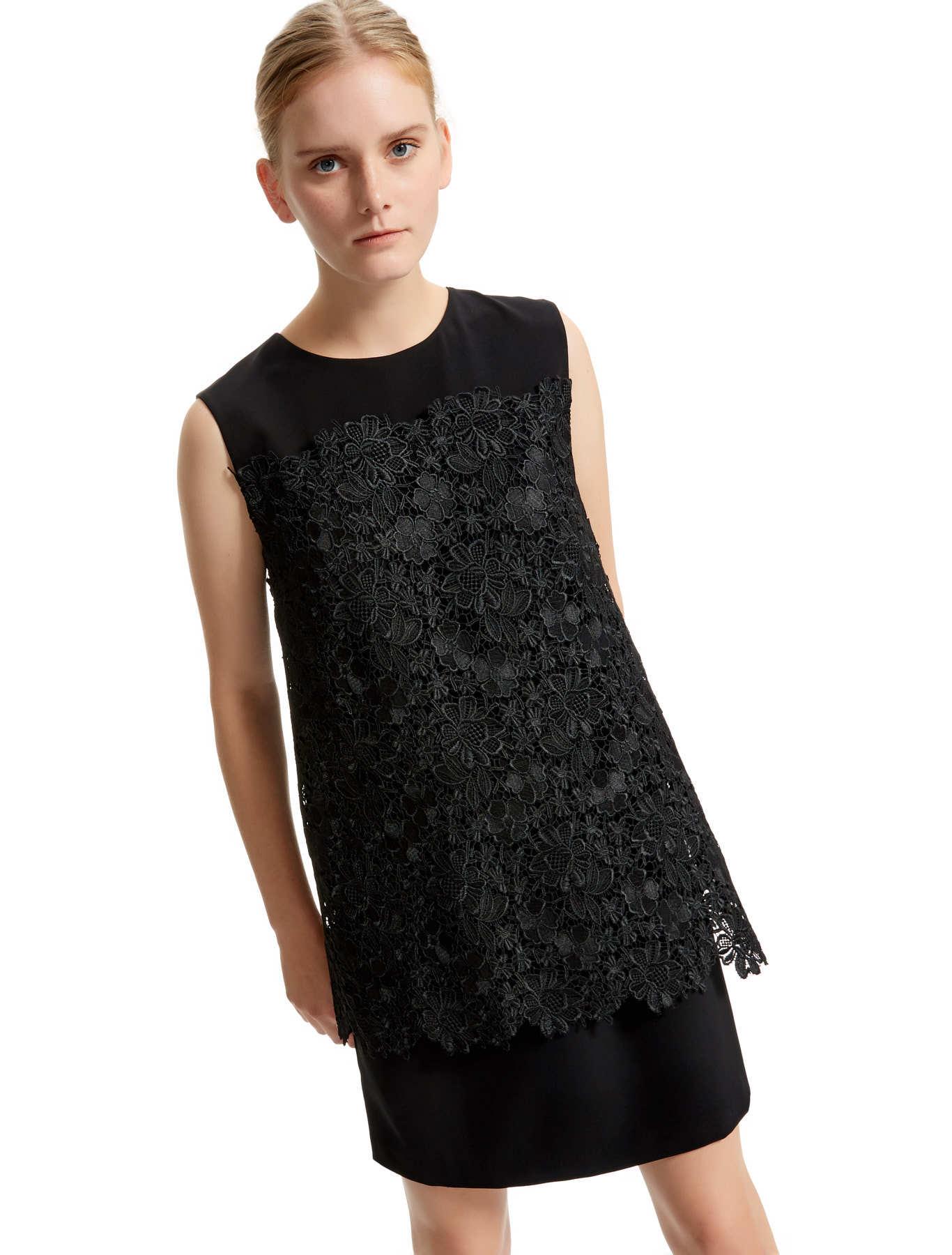 Layered Lace Shift Dress