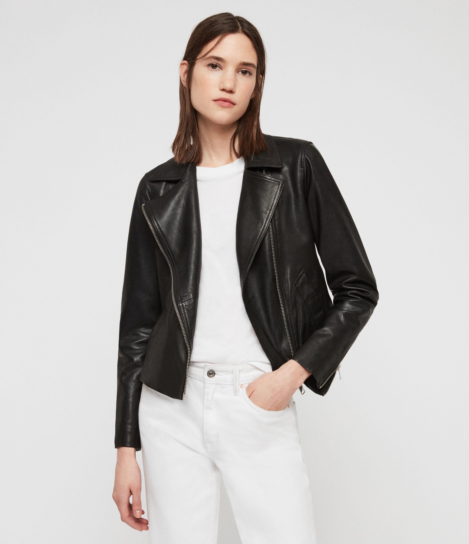 75a0230ff54 Vela Leather Biker Jacket   Endource