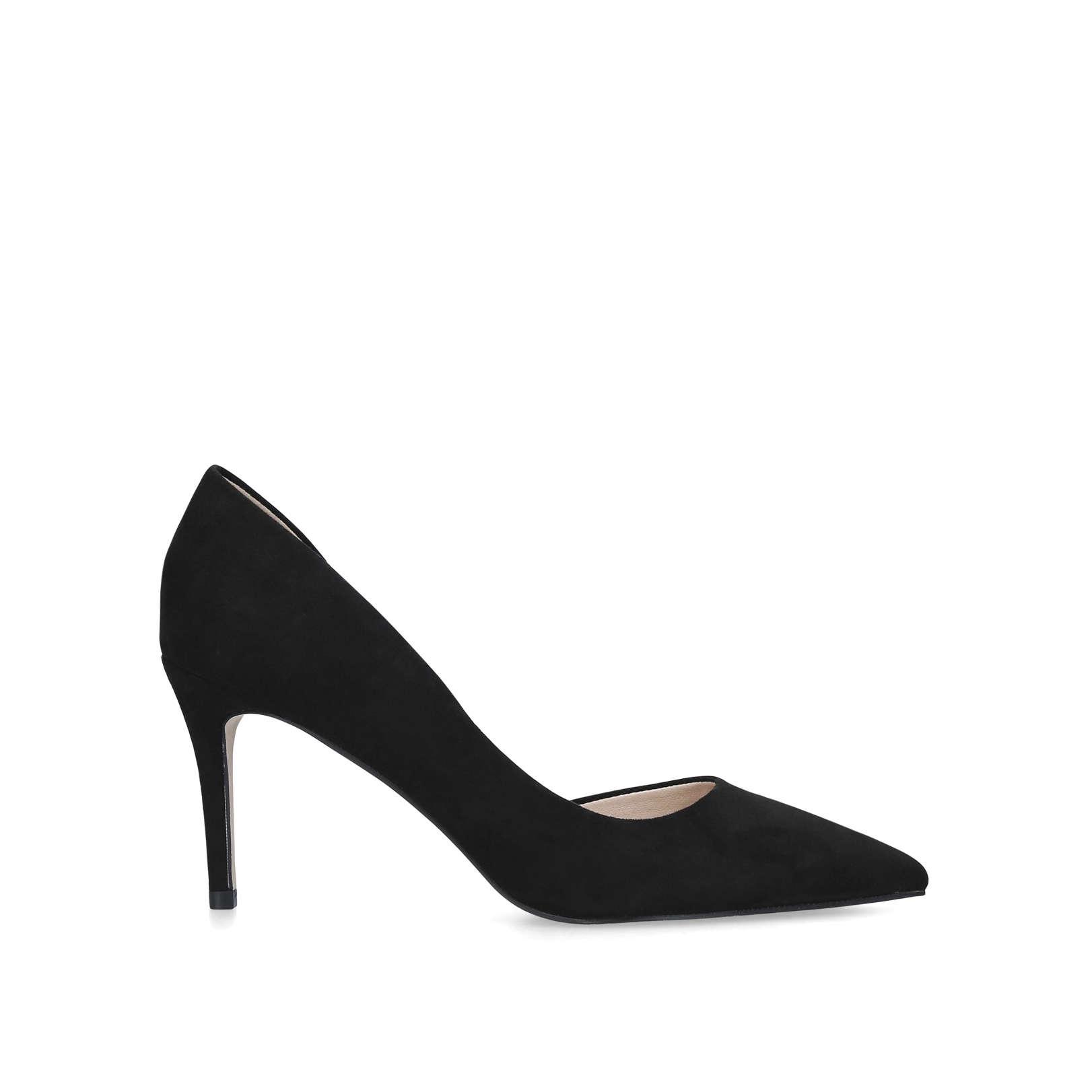 f5b98ee98136a Celia Suedette Court Shoes | Endource