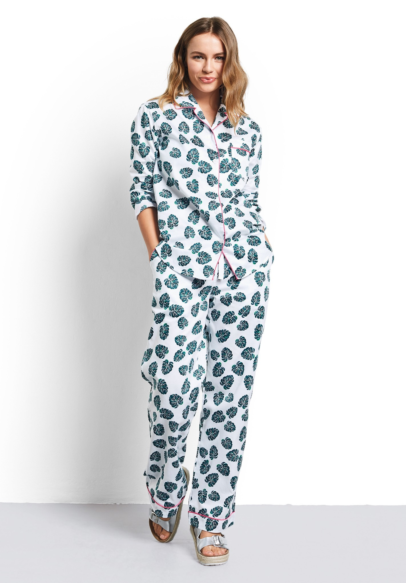 separation shoes b91a7 8f316 Monstera Leaf Pyjamas