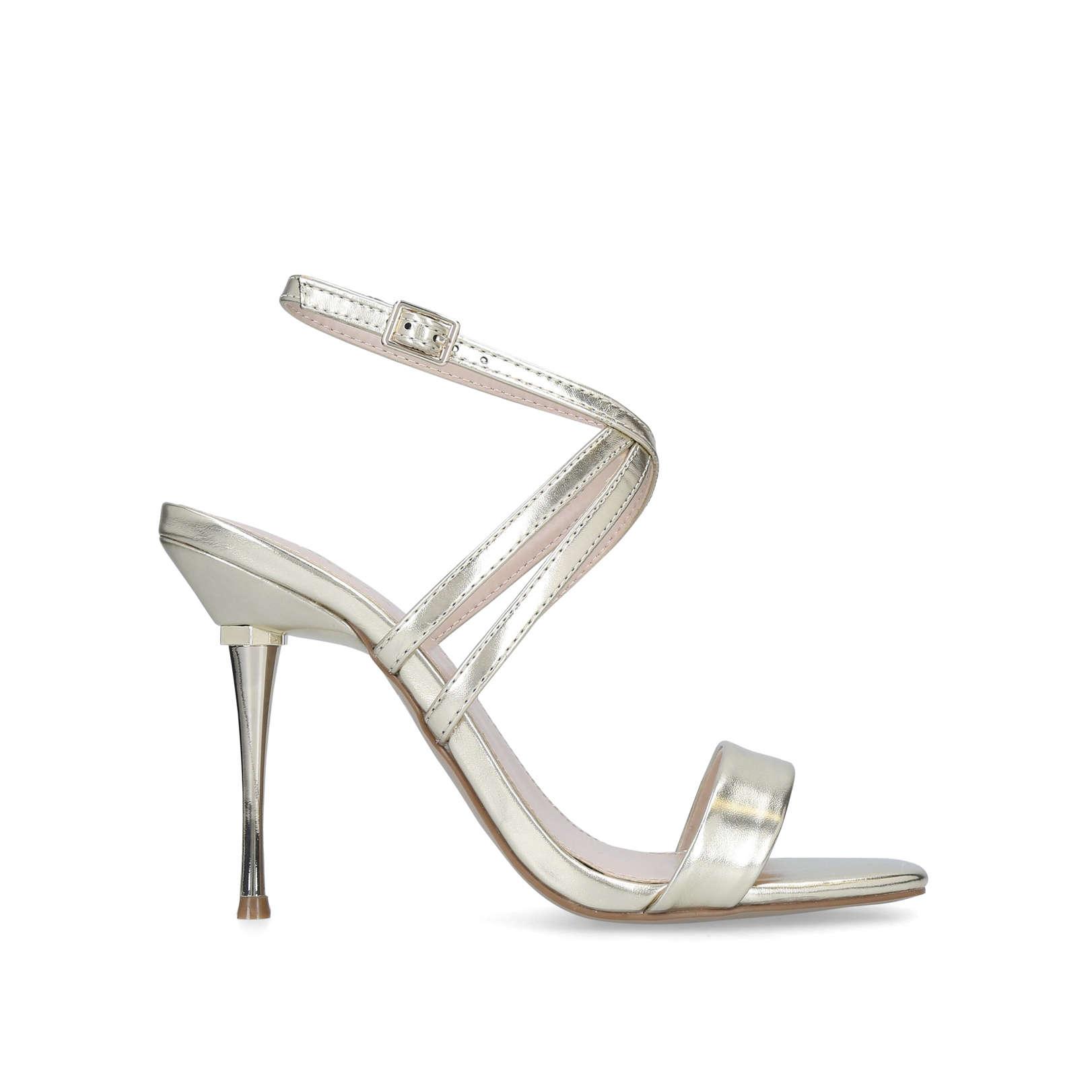 7d23302c27f Goldi Stiletto Heel Strappy Sandals