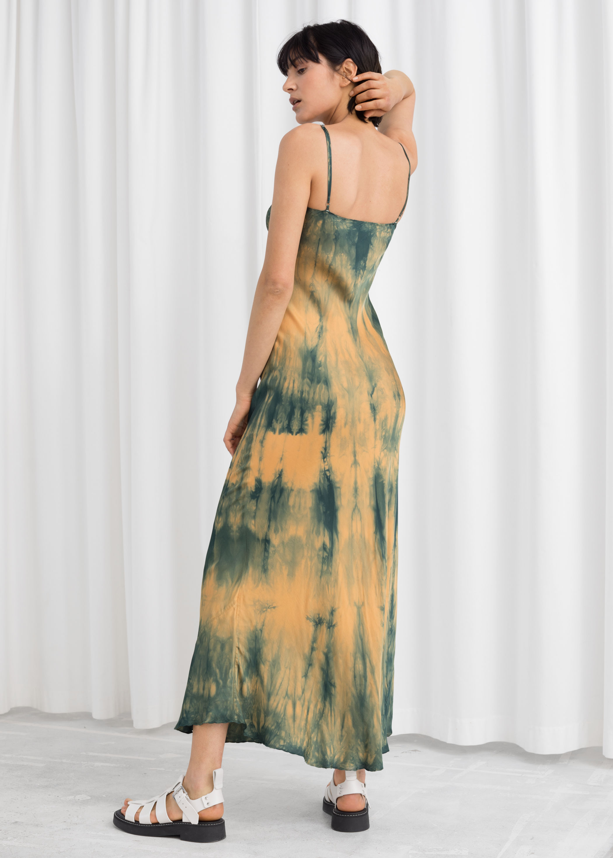 various colors incredible prices clearance sale Tie Dye Midi Slip Dress   Endource